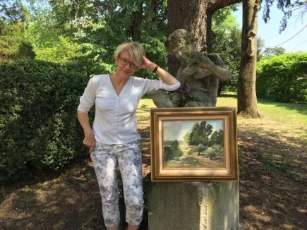 Beate est fière de présenter l'une de ses magnifiques toiles